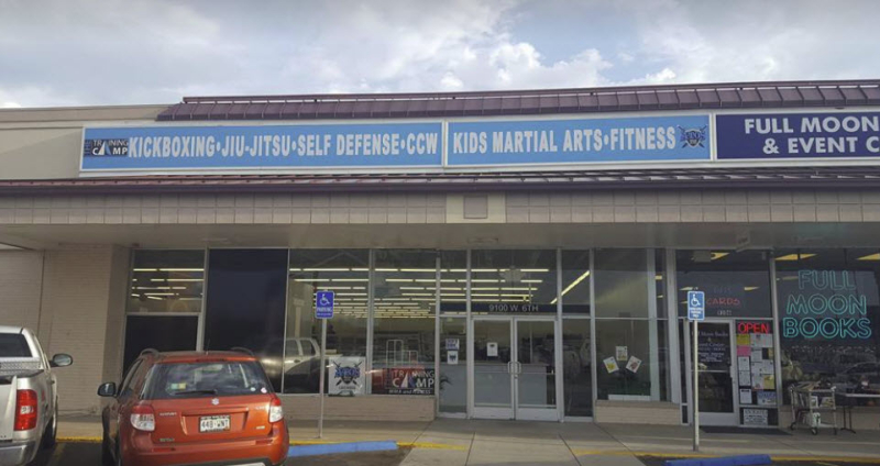 Front of Peak Kick boxing Jiu Jitsu Denver